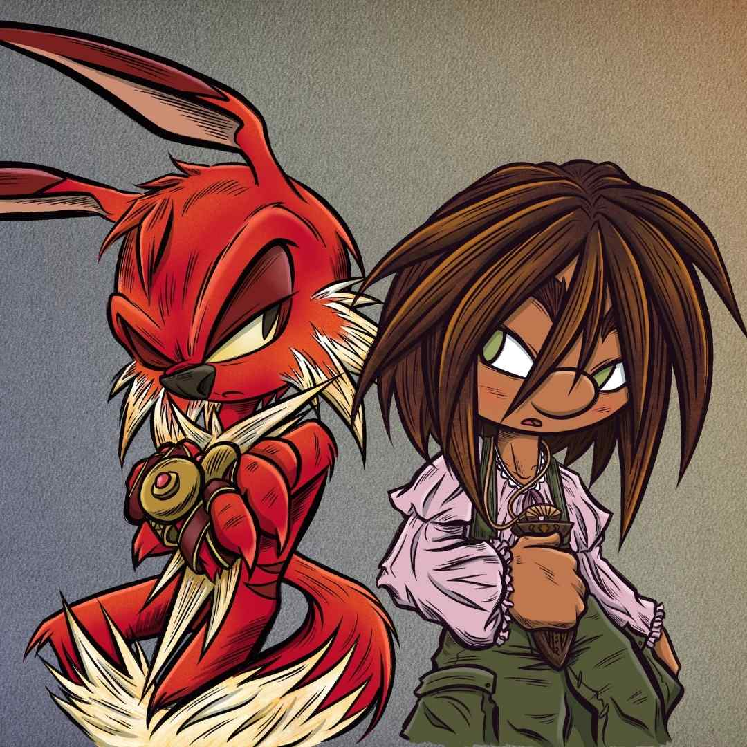 Mannamong Main Characters - Graphic Novels for Kids